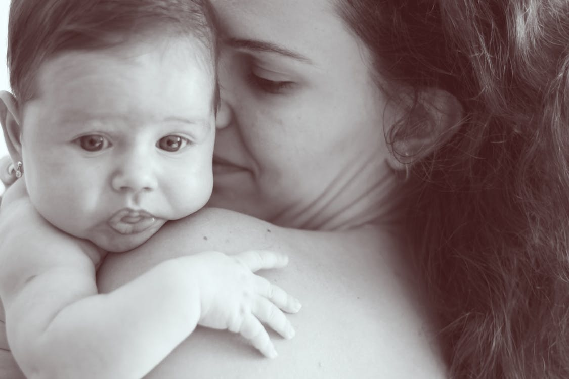 Moedermelk voor de baby