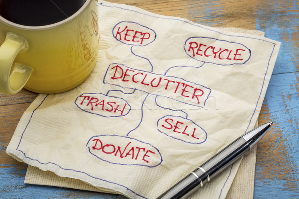 Declutter your life and feel liberated!