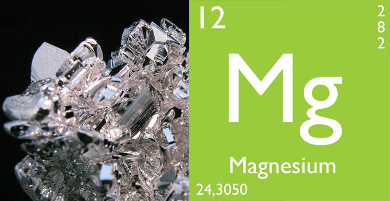 Epidemiological study: more muscle strength with more magnesium