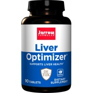 Liver Optimizer 90 tabs - milk thistle, B-vitamins, R-ALA, N-acetyl cysteine and uridine | Jarrow Formulas