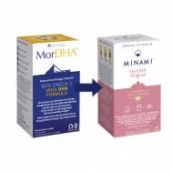 MorDHA 60 softgels - hooggedoseerde DHA formule | Minami Nutrition