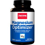 Magnesium Optimizer 200 tabletten - magnesiummalaat + kaliumcitraat + taurine + P5P | Jarrow Formulas