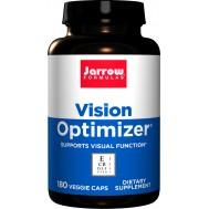 Vision Optimizer 180 capsules value-size - lutein, zeaxanthin, bilberry, eyebright, grapeseed, ALA, quercetine | Jarrow Formulas