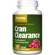 Cran Clearance 100 caps - 12:1 cranberry concentrate from Vaccinium macrocarpon | Jarrow Formulas