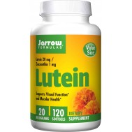 Lutein 20mg 120 softgels - lutein and zeaxanthin | Jarrow Formulas