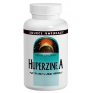 Huperzine A 100mg 120 tablets for improved memory and learning | Source Naturals