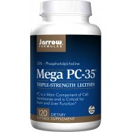 Lecithin Mega PC-35 120 softgels - phosphatidylcholine from lecithin | Jarrow Formulas