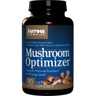 Mushroom Optimizer 90 capsules - blend of cordyceps, shiitake & 5 other mushroom species | Jarrow Formulas