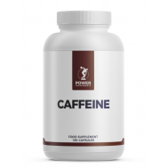Caffeine extract 180 capsules - the most popular pre-workout ingredient | Power Supplements