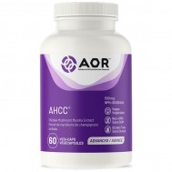 AHCC 60 capsules - Active Hexose Correlated Compound (alpha glucans) | AOR