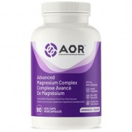 Advanced Magnesium Complex 90 caps  - glycinate, aspartate, malate, ascorbate | AOR