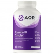 B - Advanced B-complex 180 capsules -  benfotiamine, methyl-B12, 5MTHF en pantethine | AOR
