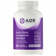 Gastro Relief 60 capsules - mastic gum, zinc carnosine and potassium nitrate | AOR