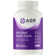 Holy Basil 60 capsules - ursolic acid and eugenol | AOR