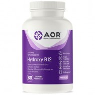 B12 - Hydroxycobalamine 1mg 60 zuigtabletten  | AORB12 - Hydroxycobalamine 1mg 60 zuigtabletten  | AOR