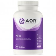 Maca 180 capsules - adaptogen out of Peru from Lepidum meyenii | AOR