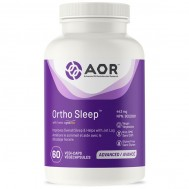 Ortho Sleep 60 capsules - GABA, theanine, 5HTP, melatonin, valerian root, passionflower and lemon balm | AOR