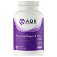 Strontium Support II 120 capsules supports bone mineral density | AOR