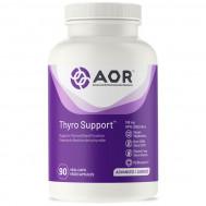 ThyroSupport 90 capsules - tyrosine, Coleus forskohlii, Bacopa monnieri & iodine supports thyroid function | AOR