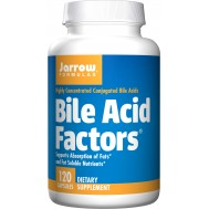 Bile Acid Factors 120 capsules - conjugated and unconjugated bile acids | Jarrow Formulas