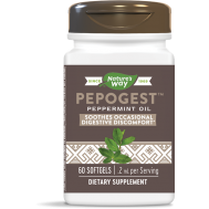 Pepogest Peppermint Oil 60 softgels | Nature's Way
