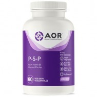 B6 - P5P 60 capsules - pyridoxal-5'-phosphate,  biologically active form of vitamin B6  | AOR