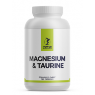 Magnesium + Taurine 180 capsules | Power Supplements