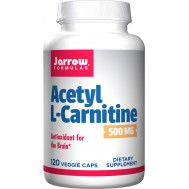 Acetyl-L-carnitine 500mg 120 capsules - the brain-specific carnitine | Jarrow Formulas