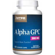Alpha GPC 60 capsules - L-alphaglycerylphosphorylcholine protects brain and improves muscle strength | Jarrow Formulas