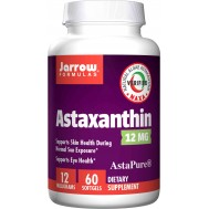 Astaxanthin High Potency 12mg 60 softgels | Jarrow Formulas