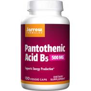 B5 - Pantothenic Acid 100 capsules | Jarrow Formulas