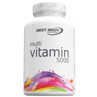 Multi Vitamin 5000 100 capsules - multivitamine | Best Body