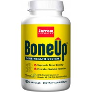 Bone-Up 120 capsules trial-size - calcium (MCHA) , magnesium, vitamin C, D and K | Jarrow Formulas
