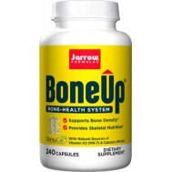 Bone-Up 240 capsules - calcium (MCHA) , magnesium, vitamin C, D and K | Jarrow Formulas