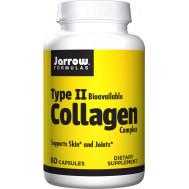 Collagen Complex Type II 60 capsules - collagen in bio-available form | Jarrow Formulas