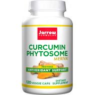 Curcumin Phytosome 120 capsules - Curcuma longa + phosphatidylcholine | Jarrow Formulas