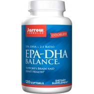 EPA-DHA Premium Balance 120 softgels -  highly concentrated fish oil | Jarrow Formulas
