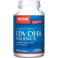 EPA-DHA Premium Balance 240 softgels - highly concentrated fish oil | Jarrow Formulas