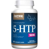 5-HTP 50mg 90 capsules - 5-hydroxytryptophan from Griffonia simplicifolia | Jarrow Formulas