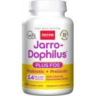 Jarro-Dophilus + inulin-FOS 3.4 billion 300 capsules | Jarrow Formulas
