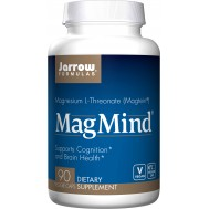 MagMind 90 capsules - magnesium L-threonate for the brain | Jarrow Formulas