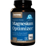 Magnesium Optimizer 200 tablets - magnesium malate + potassium citrate + taurine + P5P | Jarrow Formulas