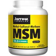 MSM Sulfur 1kg powder value-size - methylsulfonylmethane | Jarrow Formulas