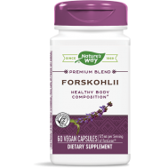 Forskohlii standardized extract 60 caps - forskoline | Nature's Way
