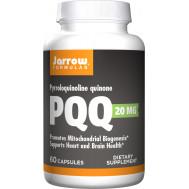 PQQ 20mg 60 capsules - pyrroloquinoline quinon | Jarrow Formulas