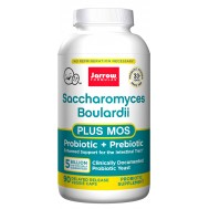 Saccharomyces Boulardii + MOS 5 billion 90 capsules | Jarrow Formulas