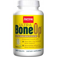 Bone-Up Ultra 240 tabletten - calcium (MCHA) , Milk Basic Protein, D3, K2 (MK7) & silicium | Jarrow Formulas