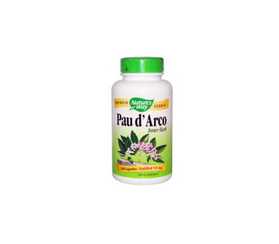 Pau d'Arco inner bark 180 caps - traditional botanical ingredient of the rainforest | Nature's Way