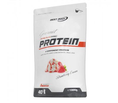 Gourmet Premium Pro Protein 1kg Strawberry Cream