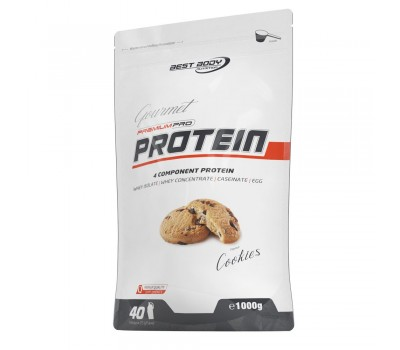 Gourmet Premium Pro Protein 1kg Cookies
